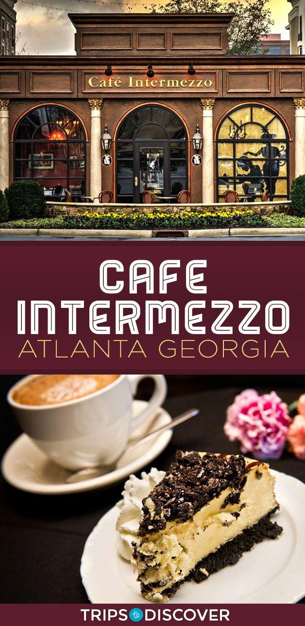 Cafe Intermezzo Boasts Atlantas Best European Cakes coffeeshop
