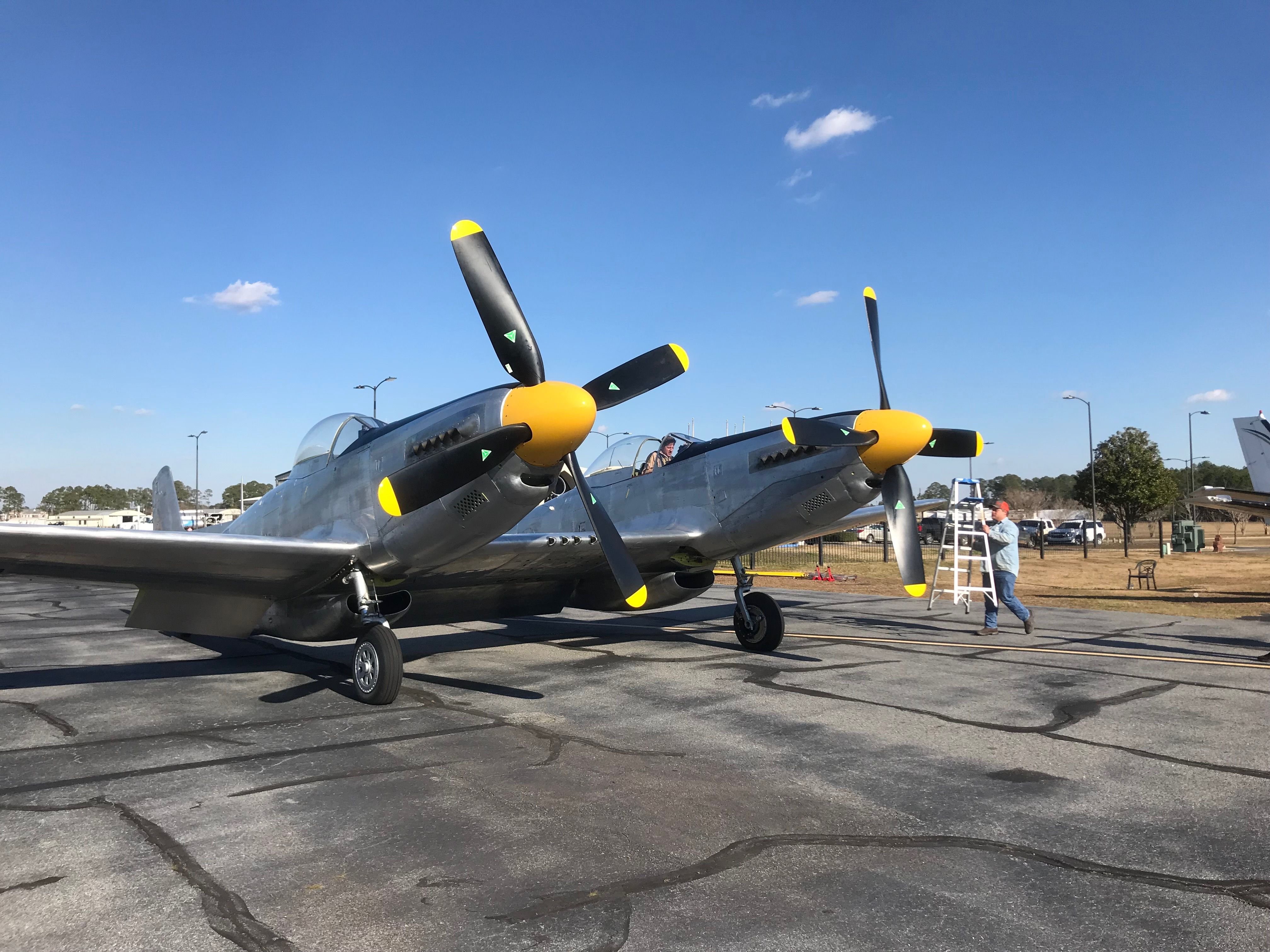 """XP82 Twin Mustang First """"Official"""" PostRestoration"""