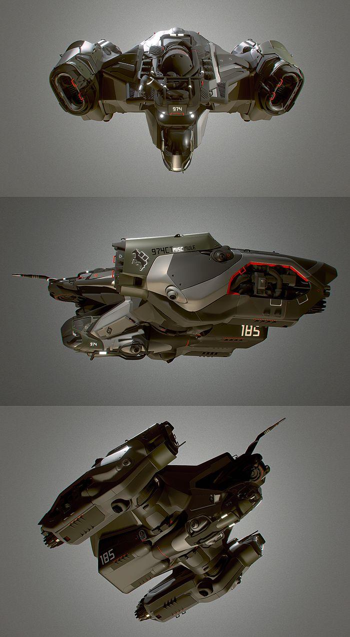 Pin by Chris Arnold on Spaceship inspiration | Spaceship ...