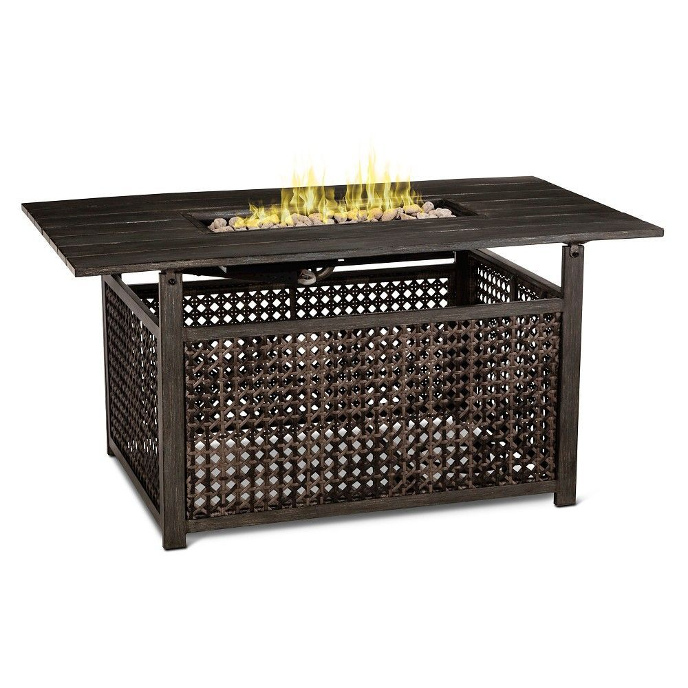 Fabron rectangle lp fire table threshold products pinterest