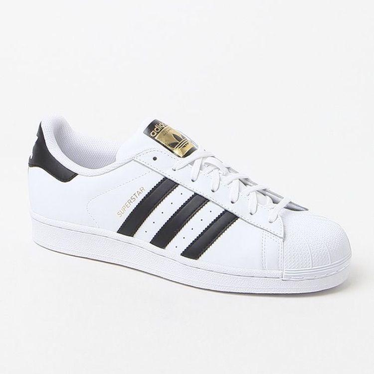 adidas superstar ii white black size 8