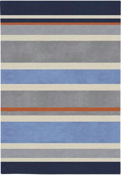 navy blue striped rug roselawnlutheran. Black Bedroom Furniture Sets. Home Design Ideas