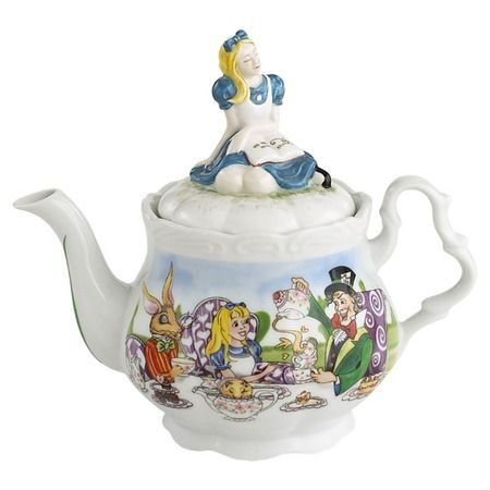 Tea time with Alice.