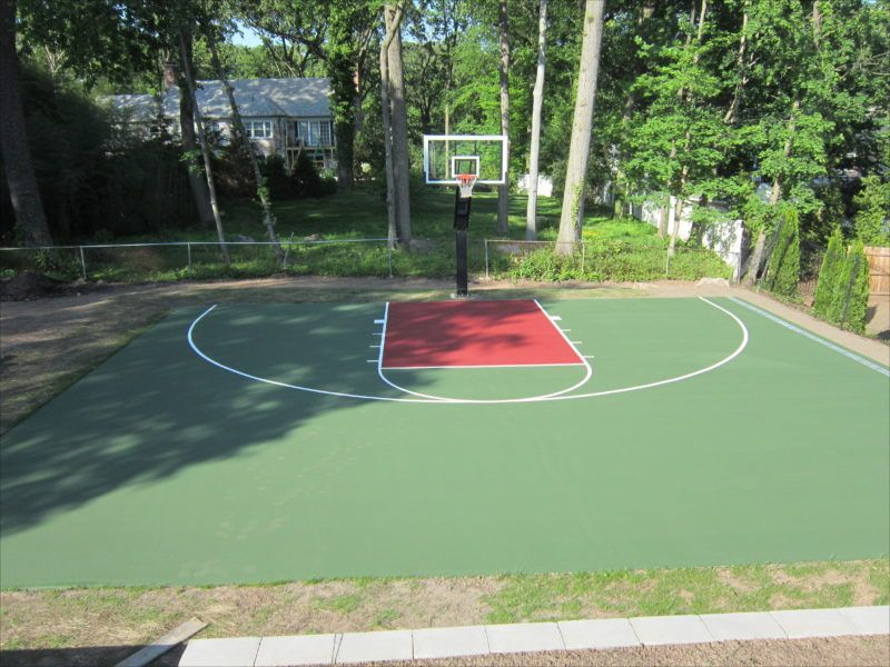 How To Build A Cheap Backyard Basketball Court With ...