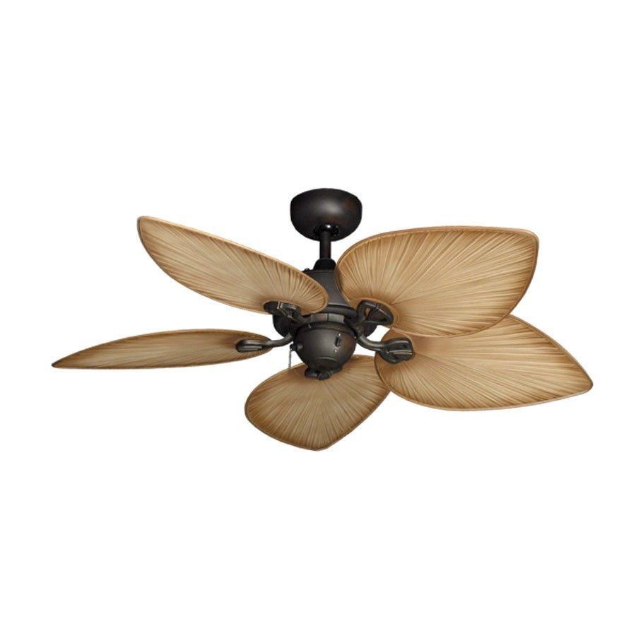 "Ceiling Fan Tropical Blades: 42"" Bombay Tropical Ceiling Fan"