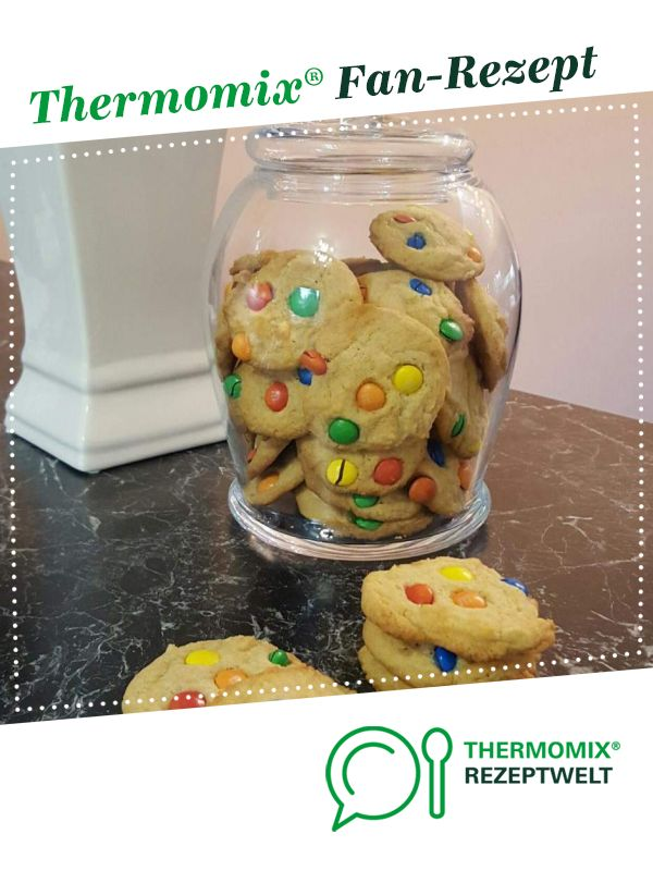 Cookie mit Schokolinsen aus Das Backbuch
