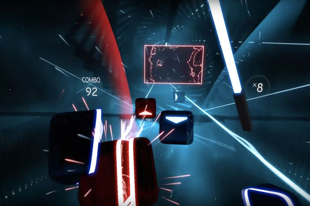 Beat Saber is the neon-soaked VR Star Wars / Guitar Hero