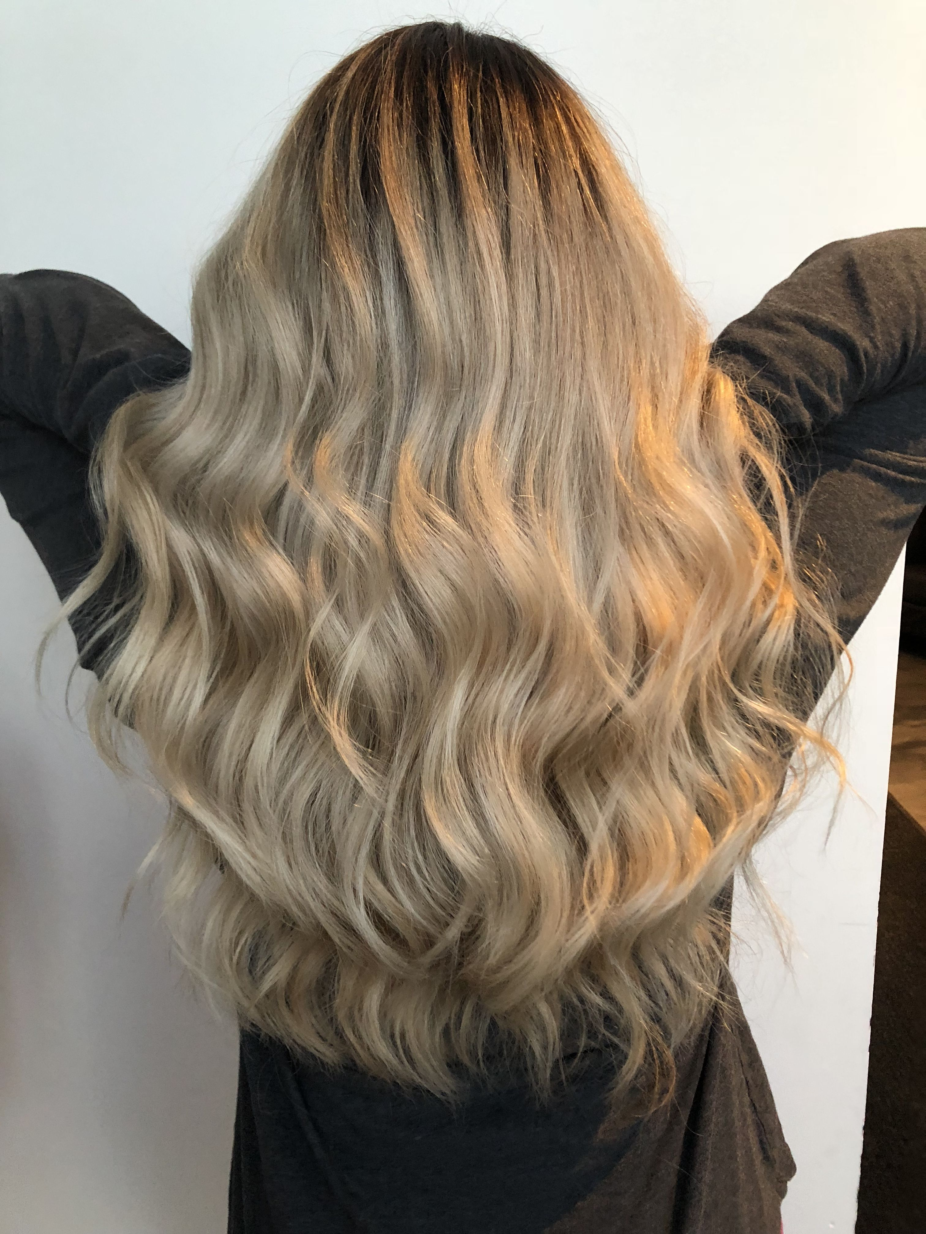 Root Shadow Root Smudge Blonde Hair Long Blonde Hair Blonde Women Balayage Color Rooted Blonde Lkhairstudios Hair Stylist Hair Long Hair Styles