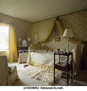 Coronet with yellow drapes Ideas for my Girl\u0027s Room Pinterest - schlafzimmer barock