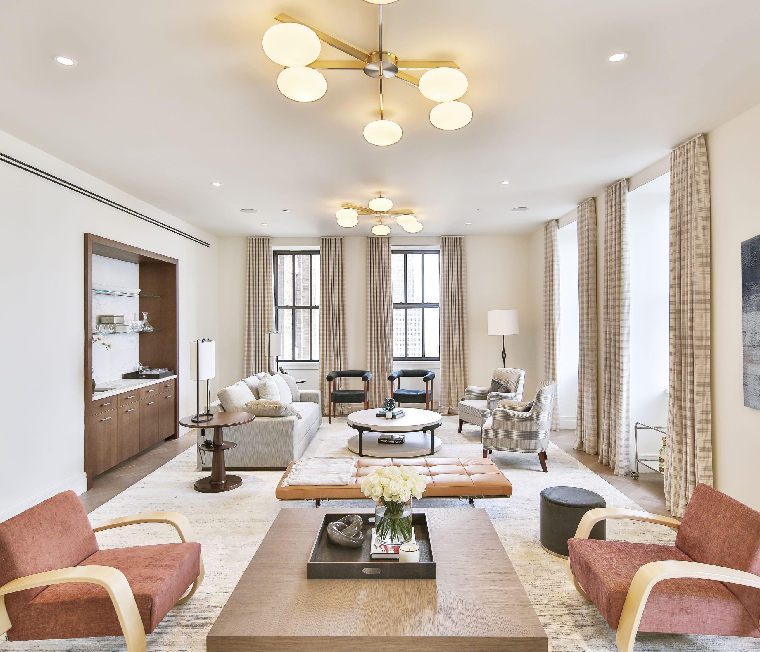 RALPH WALKER MODEL - Living Room - GRADE New York   GRADE Apartments ...