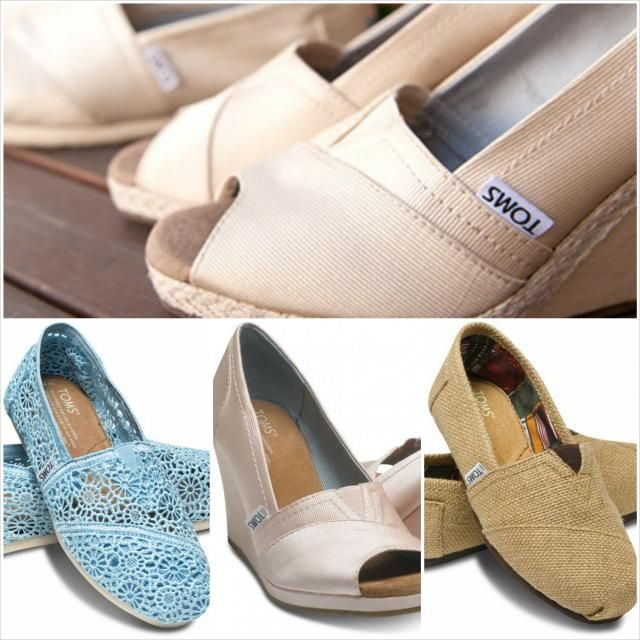 2f93d036ea6 TOMS wedding shoe ideas. Gift for my bridesmaids
