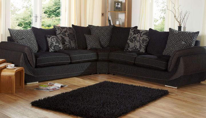 Matrix 2 Corner 2 Scatter Back Corner Sofa Sofa Fabric Sofa