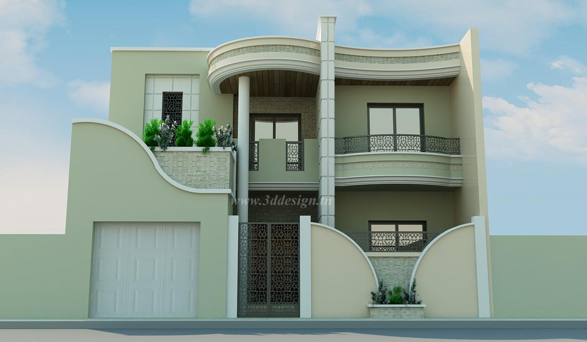 Decoration Maison Exterieur En Tunisie Avec D Co Facade Maison ...