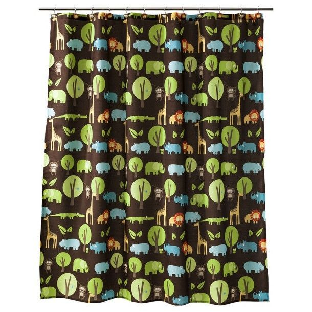 Toddler Jungle Room From Target Circo Jungle Animal Print