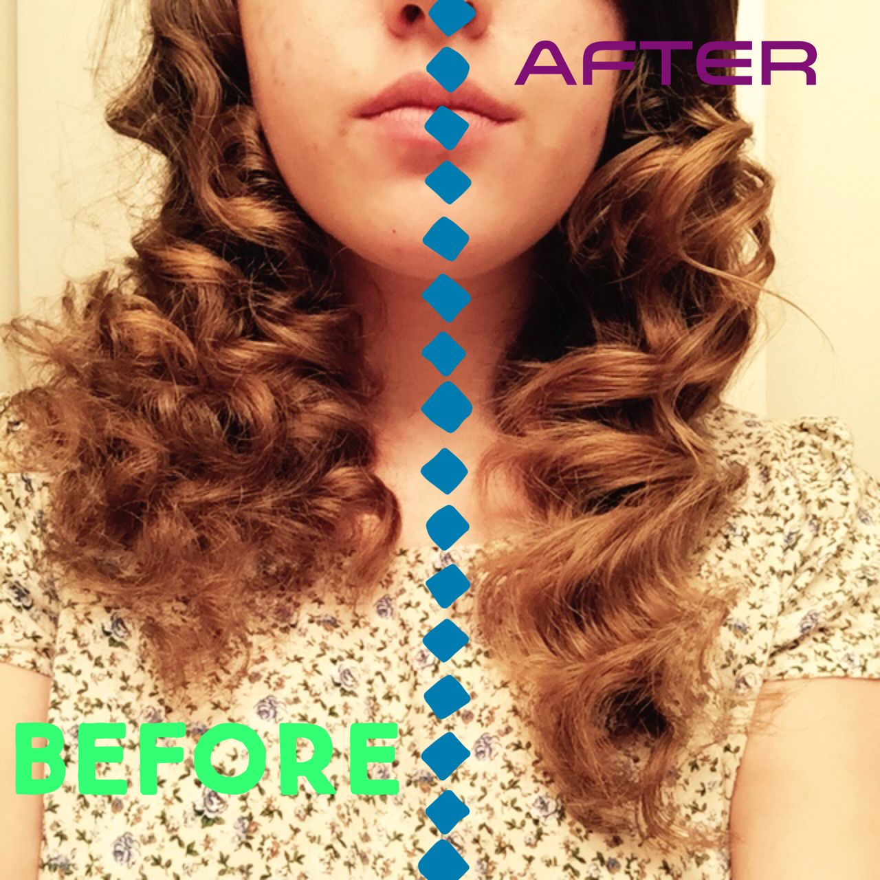 The Power Sea Salt Spray Has In Your Curls Before And After Using Braided Hairstyles Hair Styles Sea Salt Spray