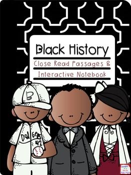 This set of close read passages with foldables for interactive notebooks is perfect for Martin Luther King, Jr. Day and Black History Month. This product can be used in multiple different ways. You can read the passages during guided small groups, as a read to self activities, as a read to someone activity, as bell work or whole group.
