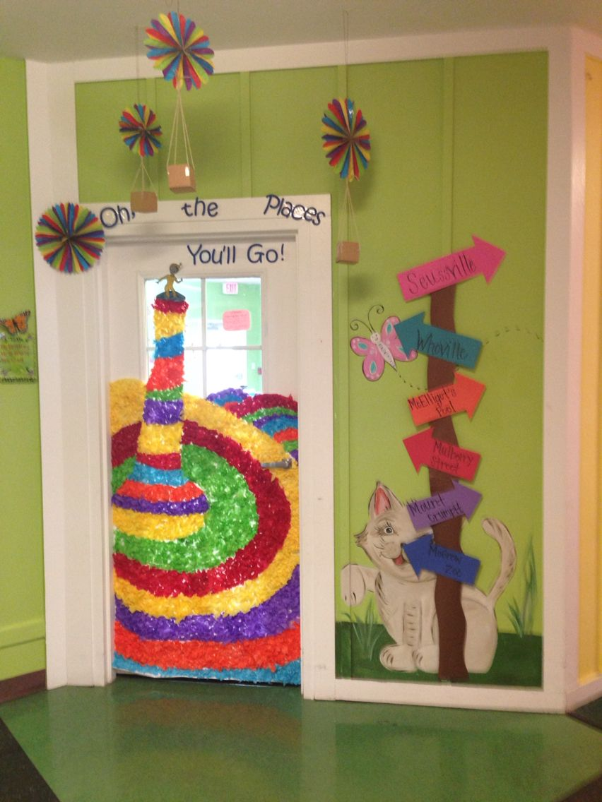 Oh the places youu0027ll go door decorations! & Oh the places youu0027ll go door decorations! | Classroom Ideas ...
