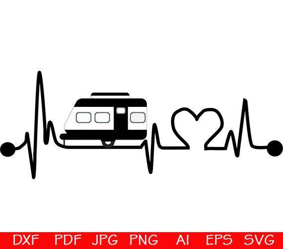 Download Camping svg, hearts svg, camp svg, Happy camper svg ...