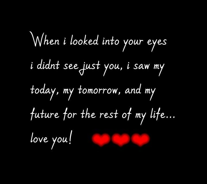 """That's what's called """"True Love """" 