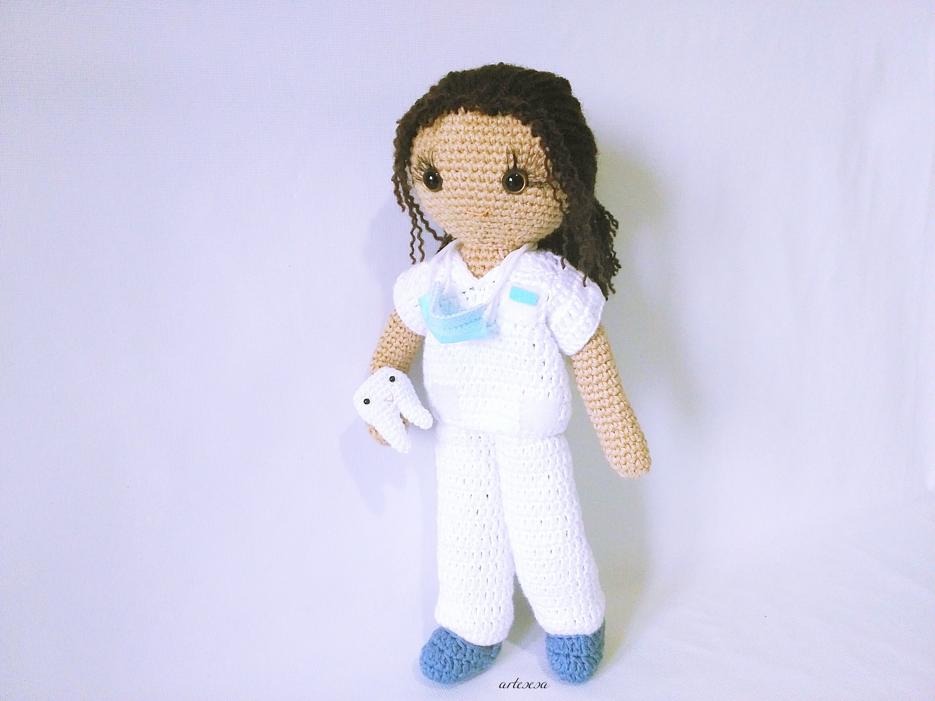dentist Diana doll