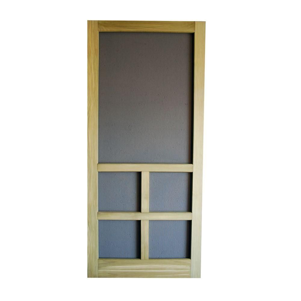 32 X 81 Wood Screen Door Httpthefallguyediting Pinterest