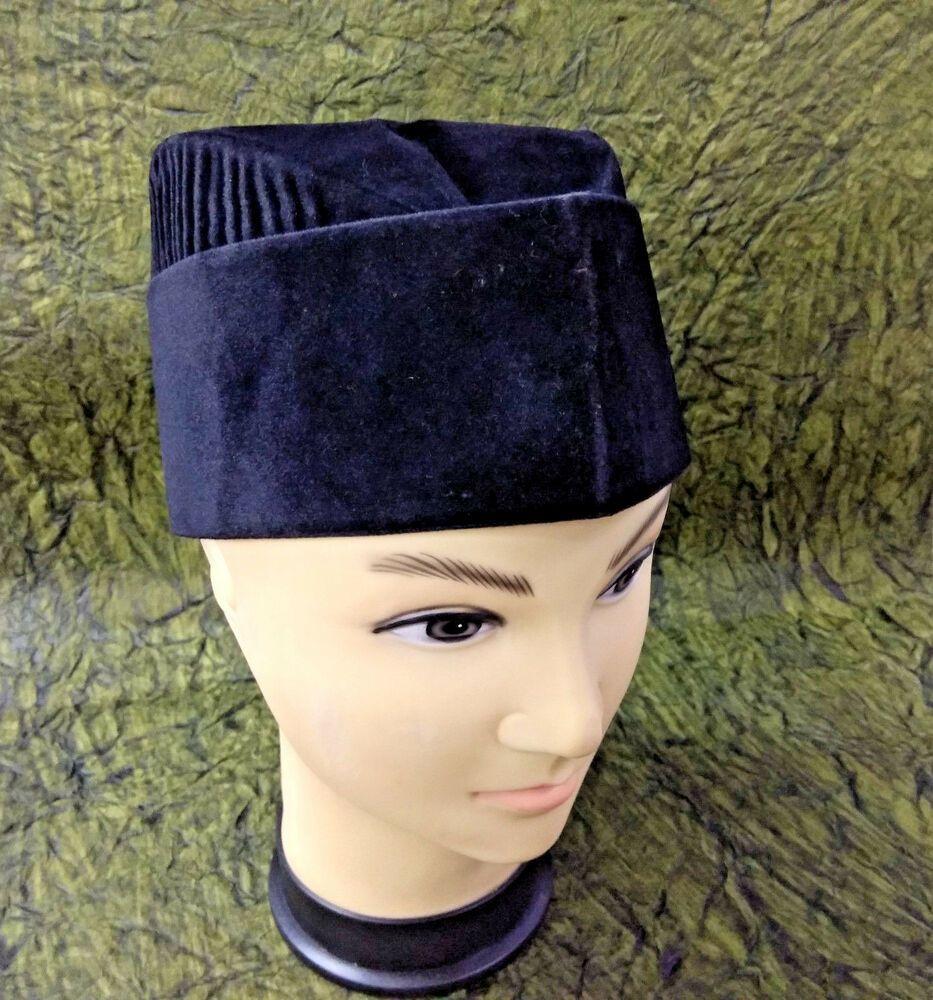 d9fdc3ca77c36 New Muslim Koofi Prayer Imam Velvet Sufi Topi Kufi Cap Men Islam Kofi Hat  57-Cm  fashion  clothing  shoes  accessories  mensaccessories  hats (ebay  link)