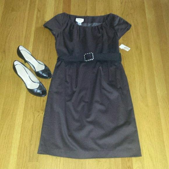 5b41de08ab2 Talbots Brown Dress Sz 8 NWT This is a dress from Talbots. It is new ...
