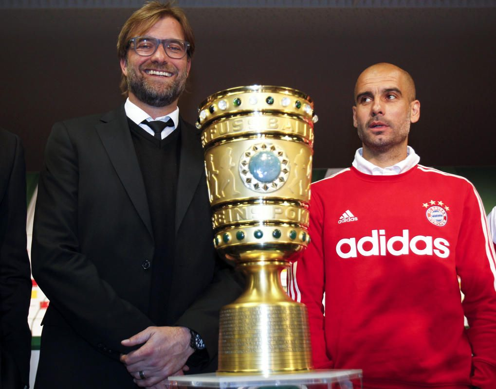 Photos Of The Day May 16 2014 Soccer Cup Bayern Borussia Dortmund