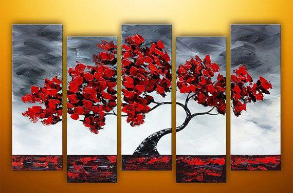 1 Cuadros Decorativos Grandes Tripticos Adornos Living 1 790 00