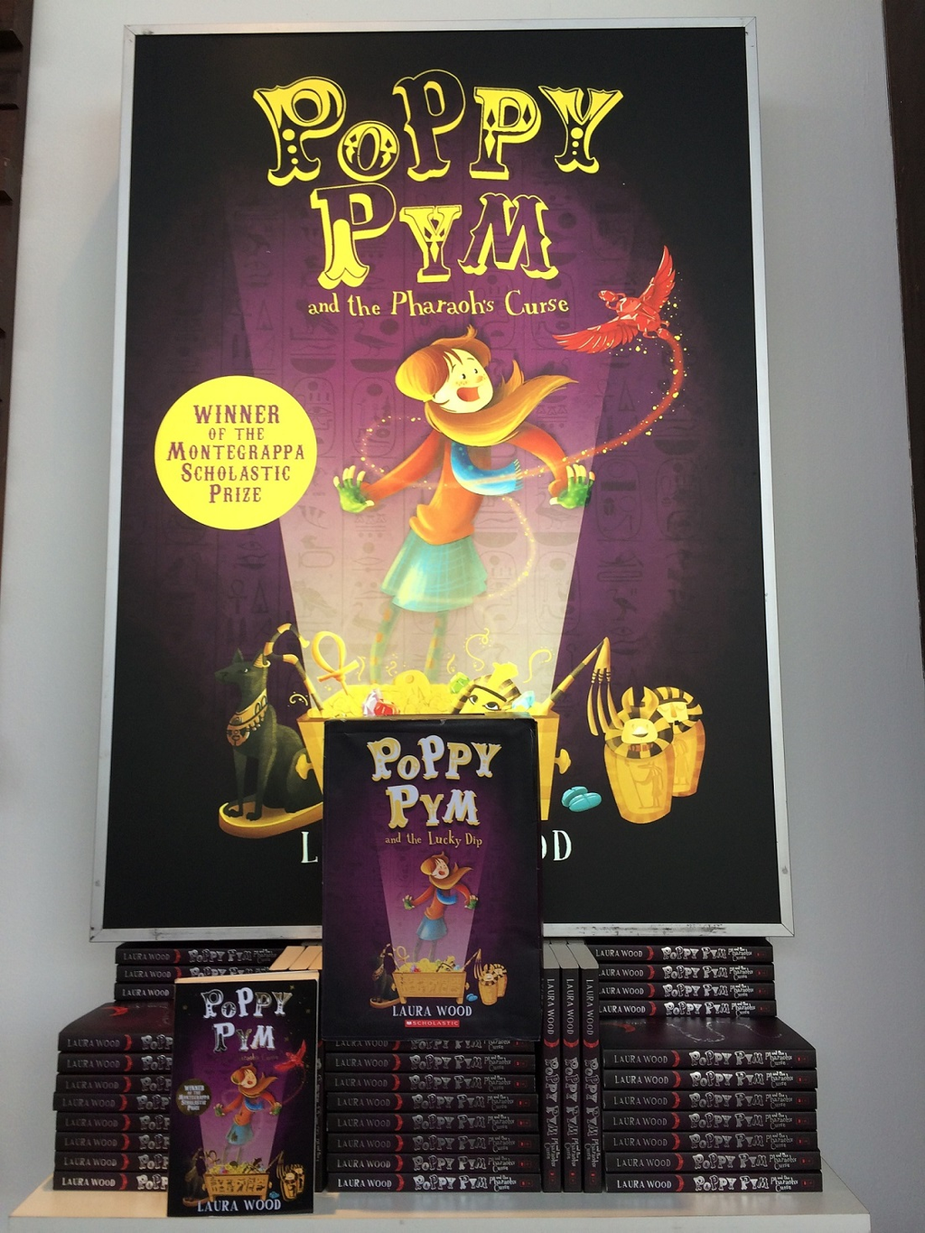 Have you met Poppy Pym at @BOChildrensBook? Visit stand A141 in Hall 25 to find out about @lauraclarewood's debut