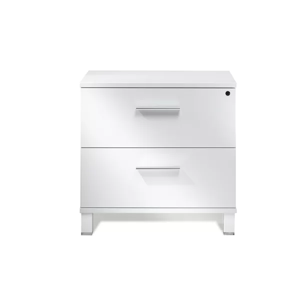 Anton 2 Drawer Lateral File Filing Cabinet Unique Furniture Furniture