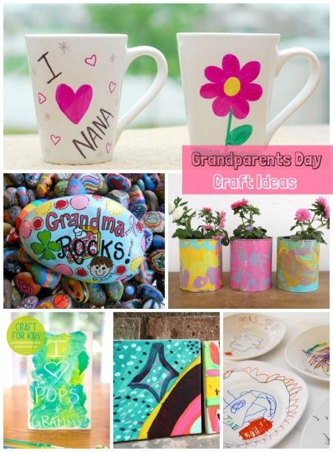 Grandparents Day Craft Ideas For Kids Part - 29: 13 Grandparents Day Craft Ideas You Can Make