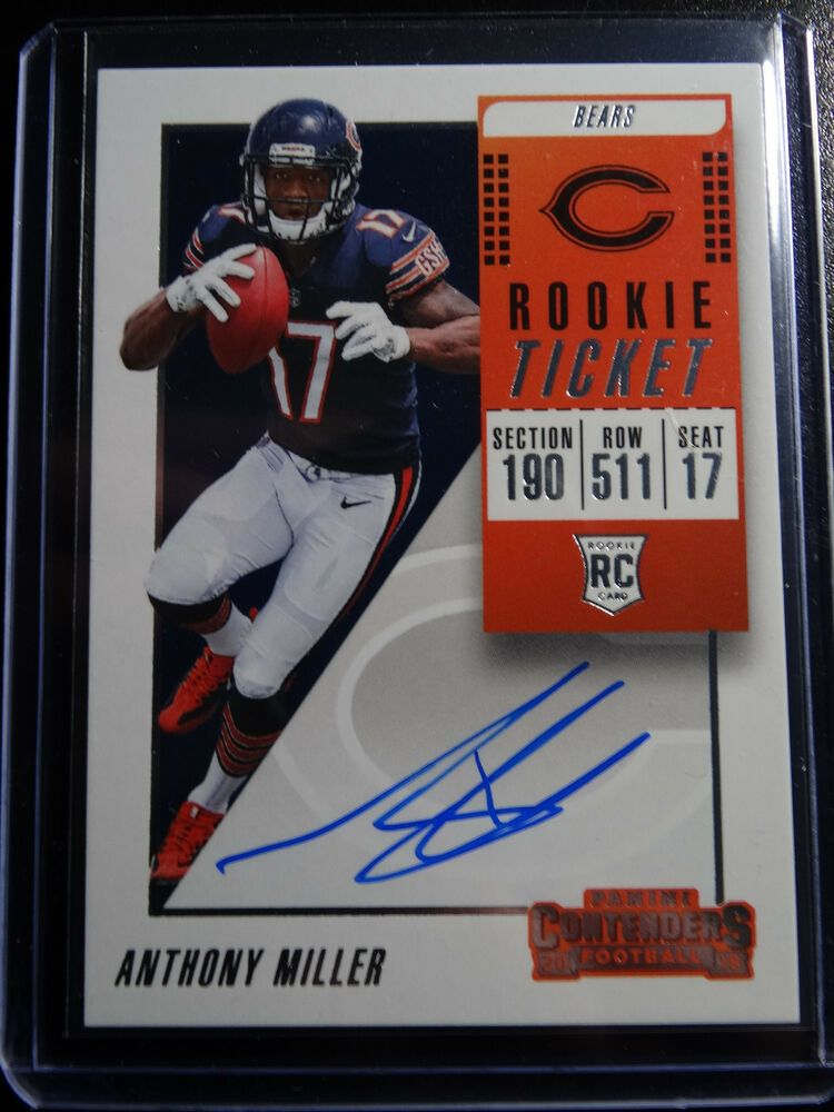 2018 contenders 120 anthony miller bears rookie ticket on