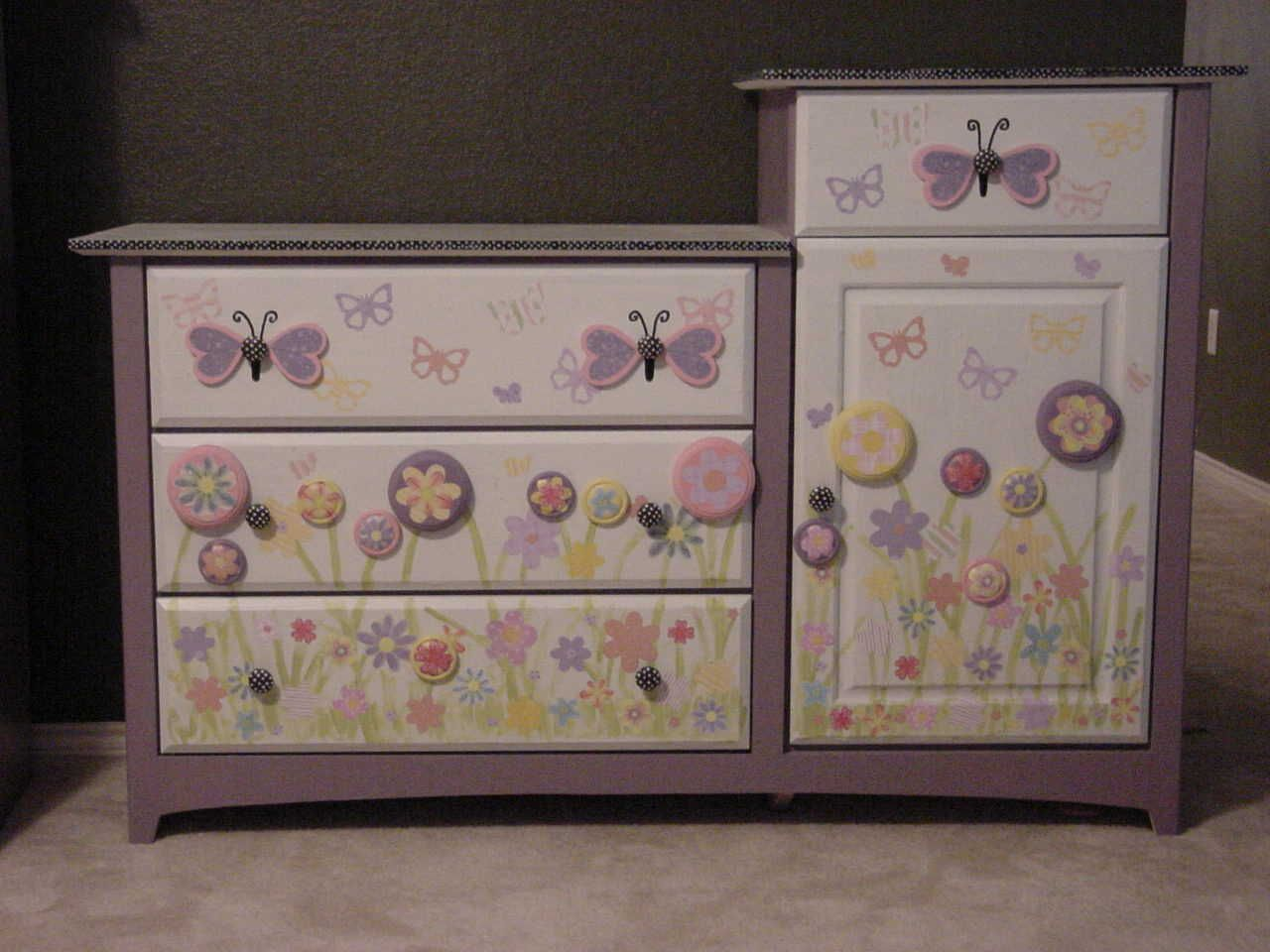 painted baby furniture. image detail for painted furniture custom children hand baby girl pinterest