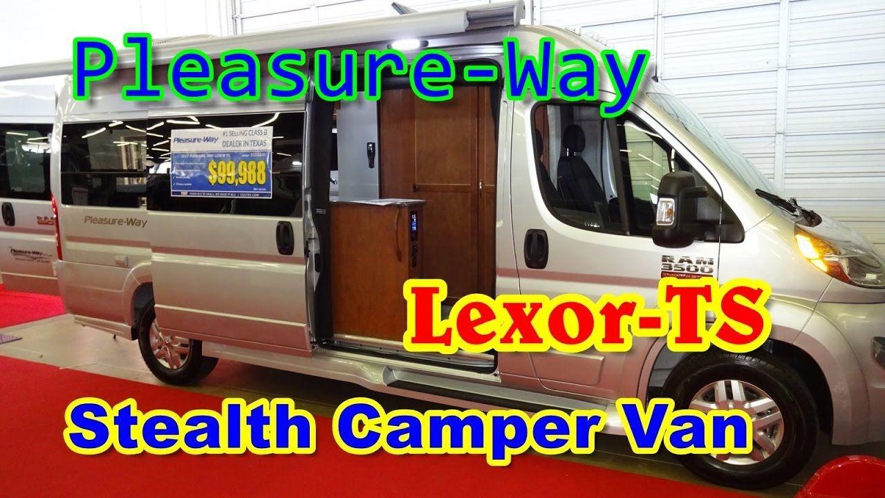 Stealth Camper Van | Lexor-TS By Pleasure-Way At The 2017 ...