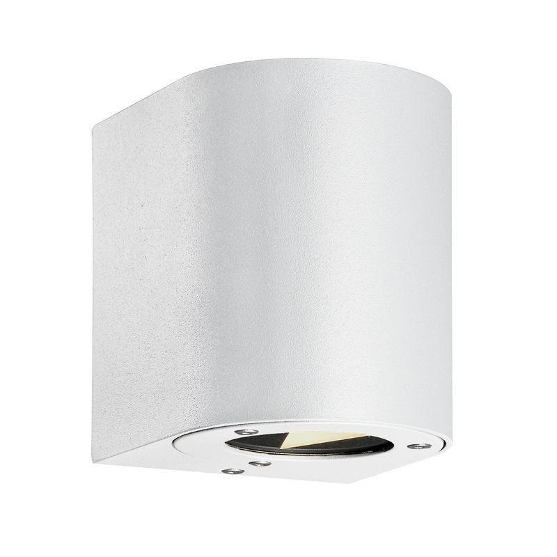 Nordlux Canto Outdoor Led Wall Light White Nordlux Wall Lights Wall Fixtures