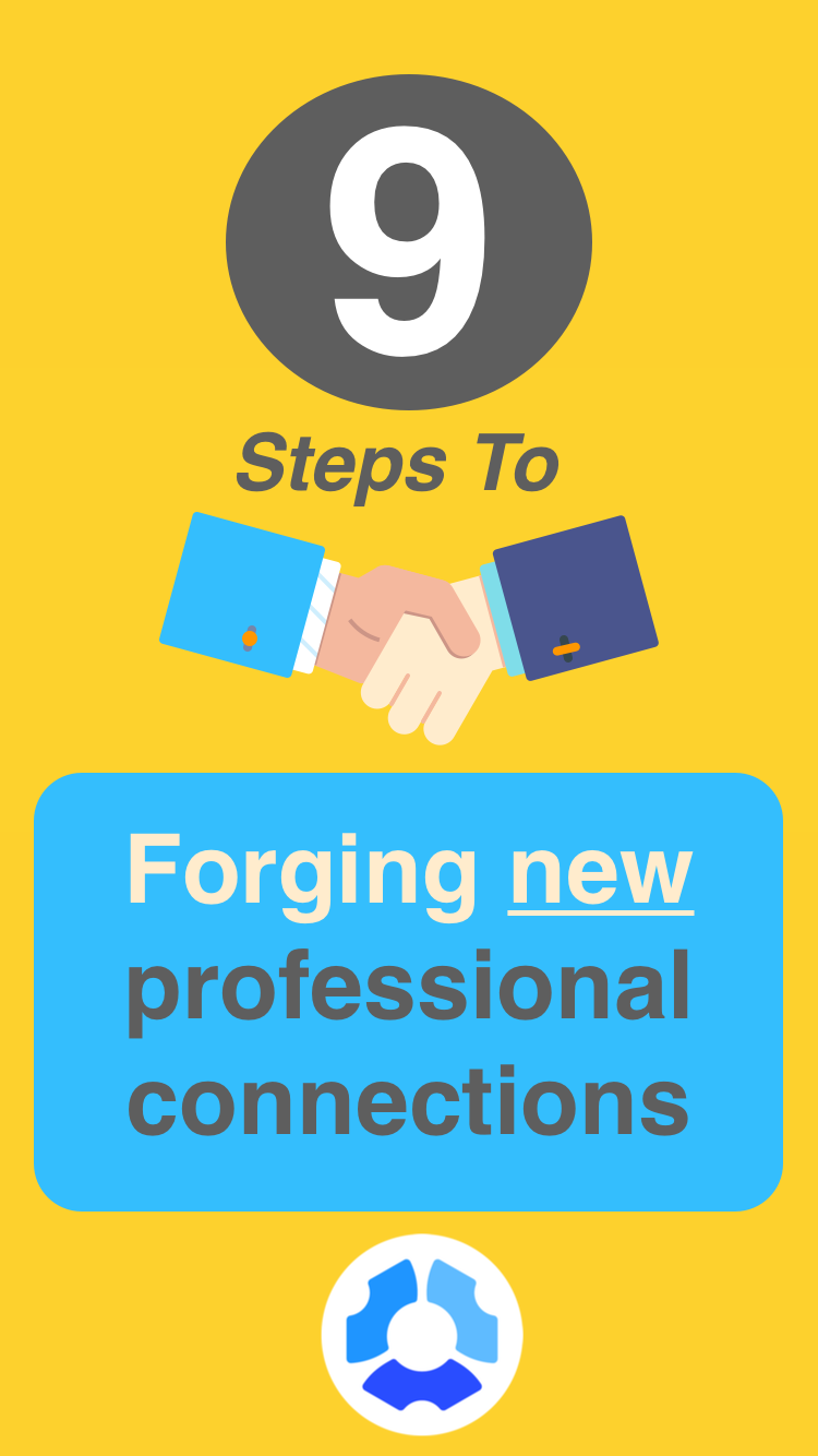 Professional networking is hard. Really hard. You carry business ...