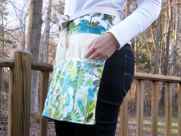 Fresh Spring Gardening Apron Pattern Gardening Apron Sewing