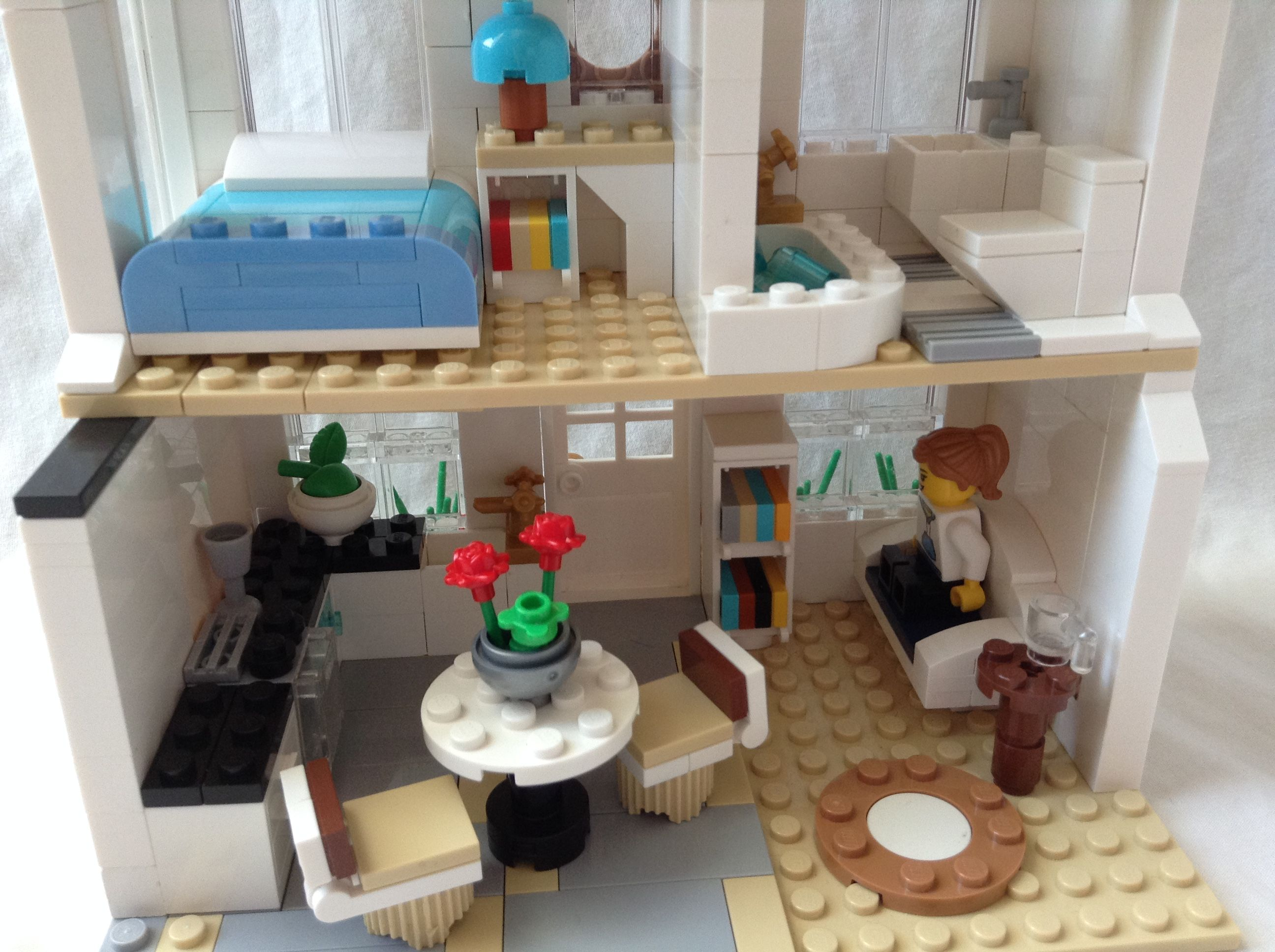 Cute Lego House Interior