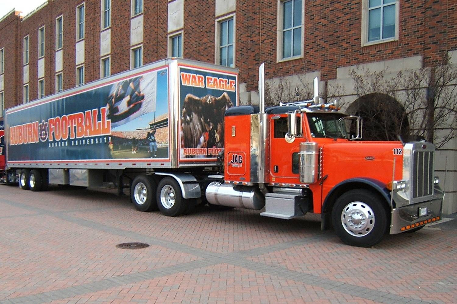 Auburn University Tigers Transport To Move Football Equipment For Away Games Auburn Football Auburn Tigers Auburn University