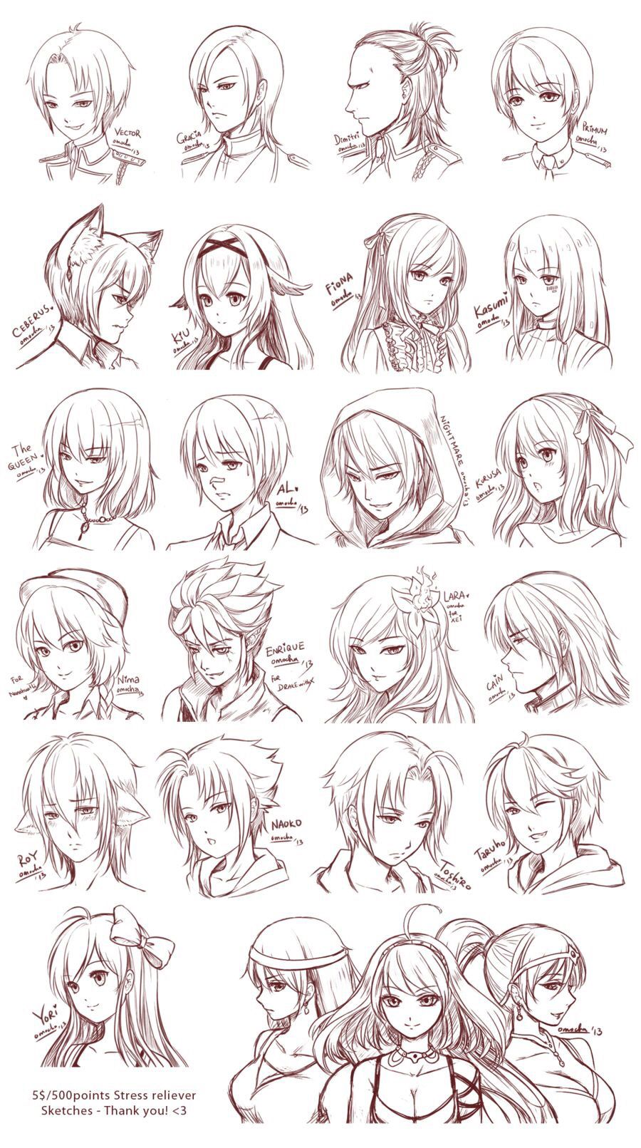 Pin by Isabelle Czwodzinski on Drawing Reference Hair