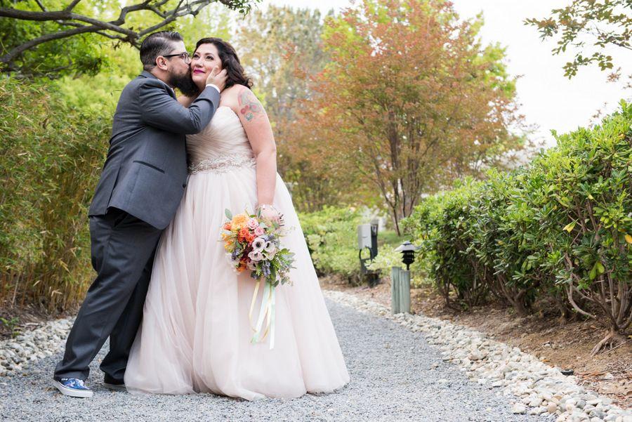 Real Plus Size Wedding Blush Retro In San Go