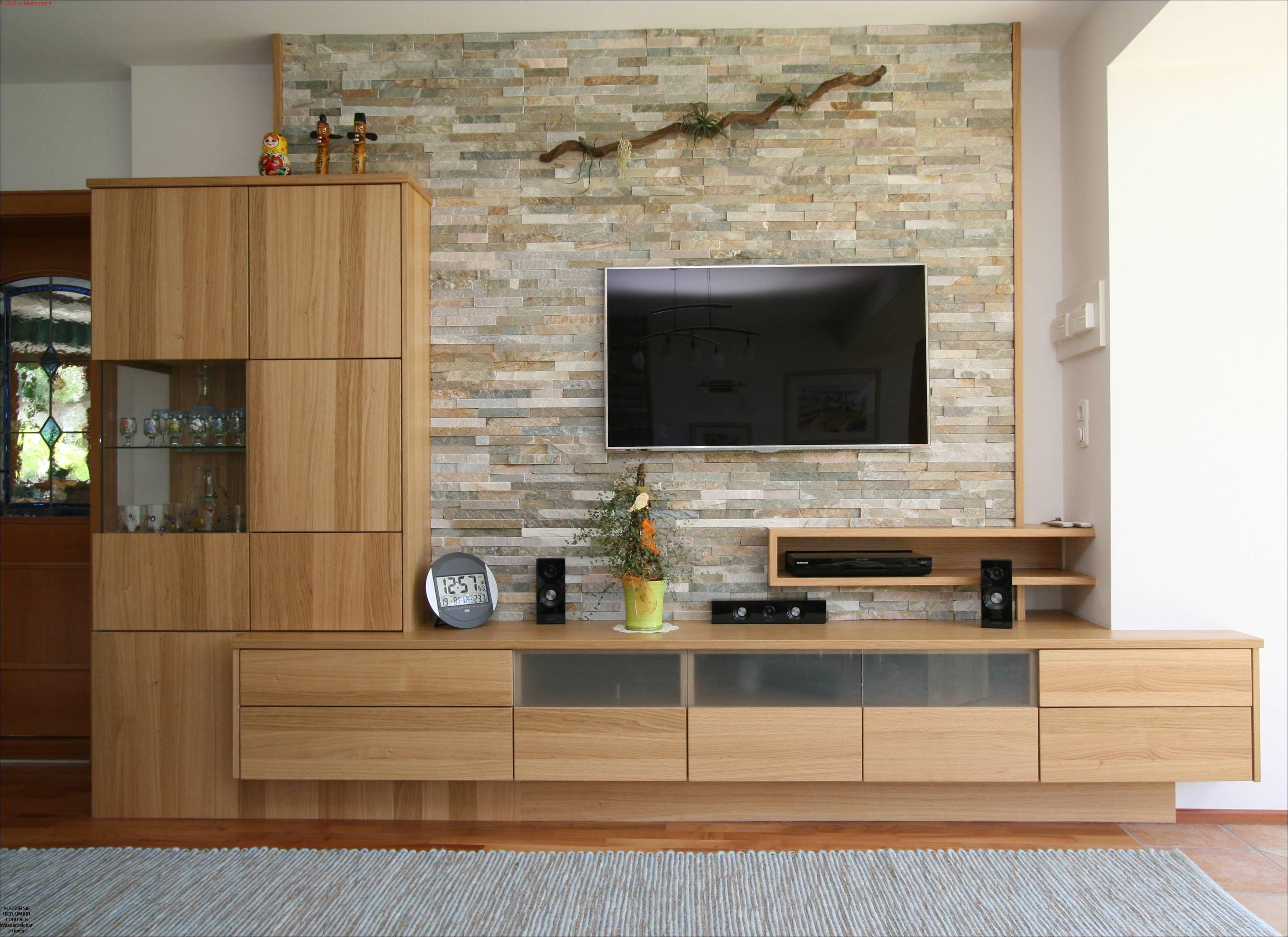 Tischler Wohnzimmer in Eichenholz - Listberger Tischlerei