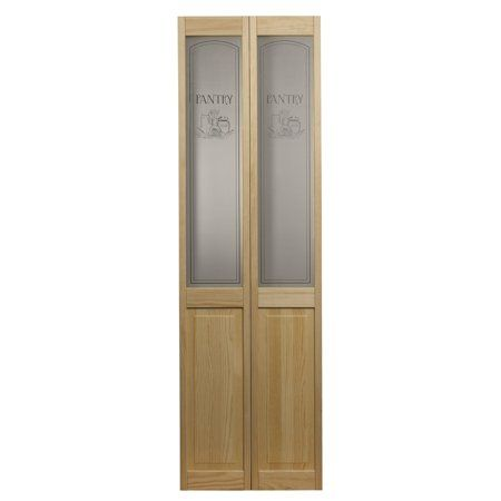 Awc 647 Pantry Glass 24 Inch X 80 Inch Bifold Door
