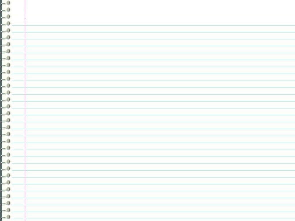 Notebook Paper Background For Word Notebook Paper Template