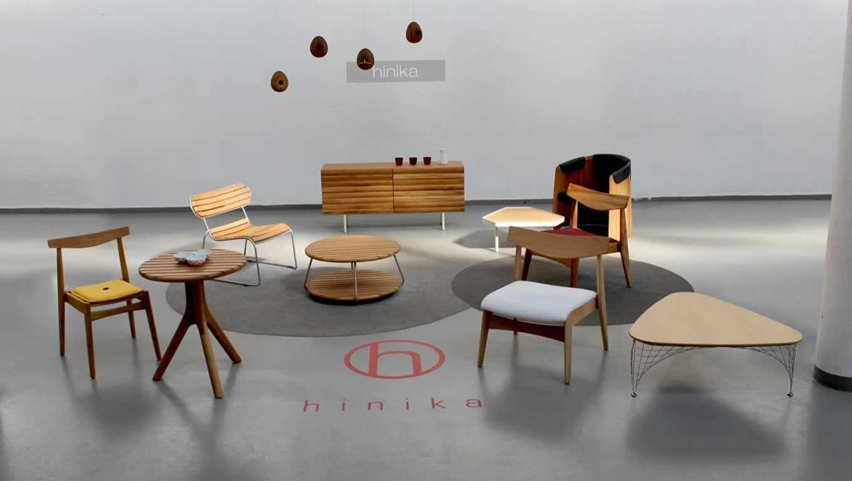 Hinika Products Design Range At Milan Furniture Fair.