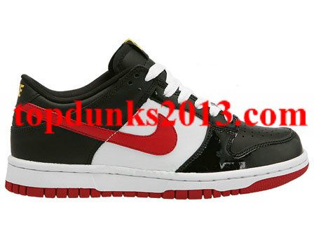 buy popular eed90 388a9 where to buy promoting black varsity red white varsity maize nike dunk low  4418f 56da8