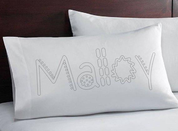 Pillowcase that YOU Color - Coloring Pillowcase - Coloring ...
