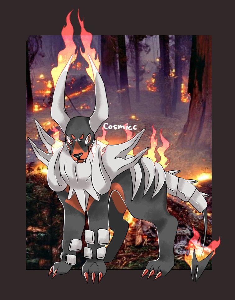 •Mega Houndoom• pokémon Pokemon, Art inspiration, Art