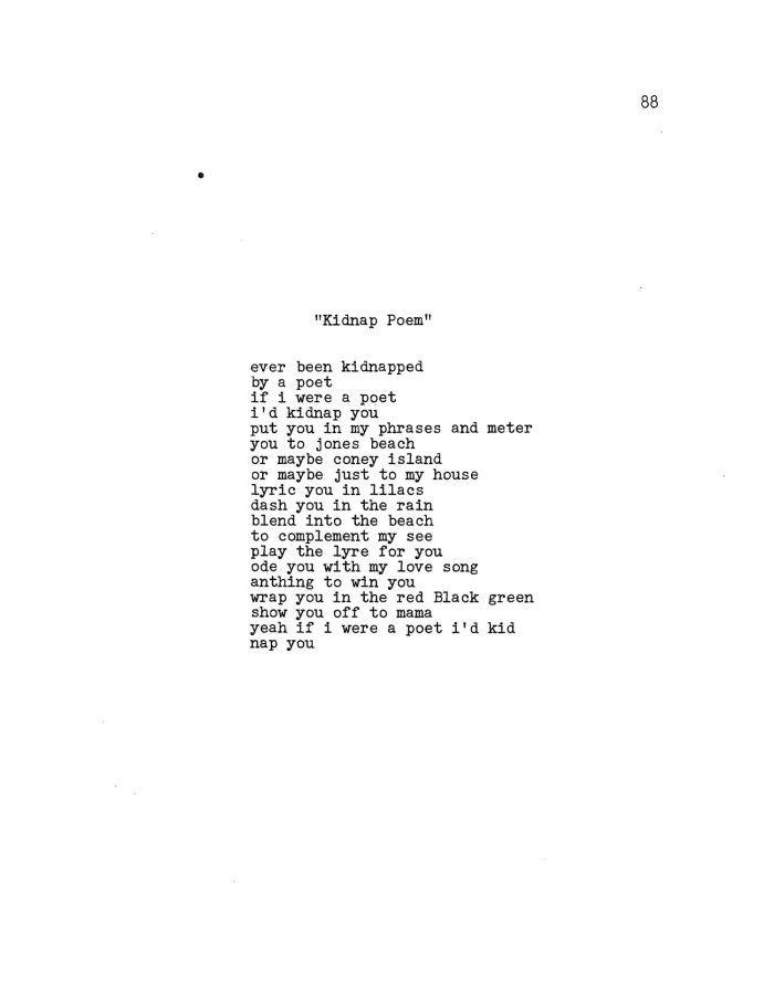 Nikki Giovanni Love Poems 5
